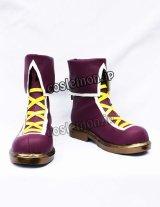 ザ・キング・オブ・ファイターズ 麻宮アテナ風 Athena asamiya 2002 コスプレ靴 ブーツ
