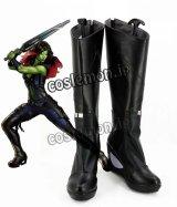 ガーディアンズ・オブ・ギャラクシー Guardians of the Galaxy ガモーラ風 Gamora コスプレ靴 ブーツ