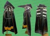 紅魔城伝説 霧雨魔理沙風 きりさめまりさ エナメル製 セット ●コスプレ衣装