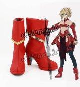 Fate/Grand Order フェイト・グランドオーダー モードレッド風 コスプレ靴 ブーツ