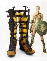 ワンダーウーマン Wonder Woman ダイアナ ワンダーウーマン風 コスプレ靴 ブーツ