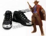 オーバーウォッチ Overwatch マクリー McCree ジェシー・マクリー風 Jesse McCree コスプレ靴 ブーツ