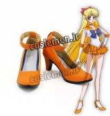 美少女戦士セーラームーン 愛野美奈子風 セーラーヴィーナス コスプレ靴 ブーツ
