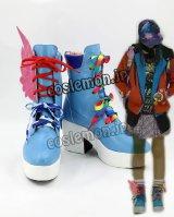 ヒーロー 西馬ニコ風 さいば ニコ ライドプレイヤーニコ風 コスプレ靴 ブーツ