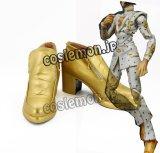 ジョジョの奇妙な冒険 Parte5 黄金の風 ブローノ・ブチャラティ風 コスプレ靴 ブーツ