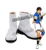 KOF ザ・キング・オブ・ファイターズ97 椎拳崇風 シイ・ケンスウ Sie Kensou コスプレ靴 ブーツ