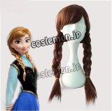 ハロウィン アナと雪の女王 Frozen アナ風 Anna コスプレウィッグ