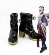 オーバーウォッチ Overwatch マーシー ニケ風 Mercy アンジェラ・ジーグラー風 Angela Ziegler 02 コスプレ靴 ブーツ