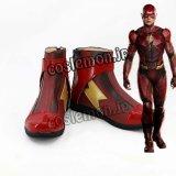The Flash ザ・フラッシュ フラッシュ風 コスプレ靴 ブーツ
