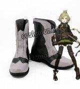 SINoALICE ーシノアリスー ピノキオ風 依存 コスプレ靴 ブーツ