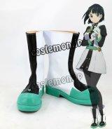 ソードアート・オンライン Sword Art Online GGO編 リーファ Leafa 桐ヶ谷直葉風 きりがやすぐは コスプレ靴 ブーツ