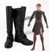 スター・ウォーズ Star Wars アナキン・スカイウォーカー風 Anakin Skywalker コスプレ靴 ブーツ