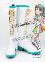 バトルガール ハイスクール サドネ風 コスプレ靴 ブーツ