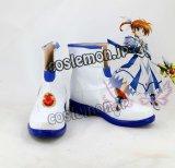 魔法少女リリカルなのはStrikerS 高町なのは風 07 コスプレ靴 ブーツ