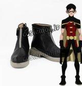 ヤング・ジャスティス Young Justice ナイトウィング風 Dick ロビン風 コスプレ靴 ブーツ
