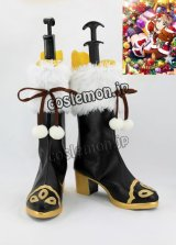 ラブライブ!サンシャイン!! Aqours 渡辺曜風 クリスマス編 コスプレ靴 ブーツ