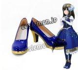 アイドルマスター シンデレラガールズ 鷺沢文香風 さぎさわふみか コスプレ靴 ブーツ