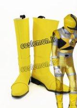 ヒーロー スパーダ風 カジキイエロー風 コスプレ靴 ブーツ