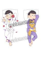 おそ松さん 松野カラ松&松野一松風 ●等身大 抱き枕カバー