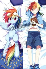 My Little Pony: Friendship Is Magic Rainbow Dash風 ●等身大 抱き枕カバー