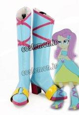 マイリトルポニー My Little Pony Equestria Girls フラッターシャイ風 Minis Fluttershy 02 コスプレ靴 ブーツ