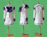 君が望む永遠 白陵柊学園 冬服 風 エナメル製 ●コスプレ衣装