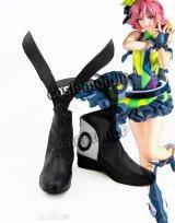 マクロス マクロスデルタ カナメ・バッカニア風 02 コスプレ靴 ブーツ