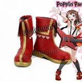 BanG Dream! バンドリ! 戸山香澄風 コスプレ靴 ブーツ