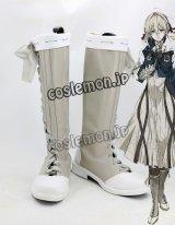 ヴァイオレット・エヴァーガーデン ヴァイオレット・エヴァーガーデン風 Violet Evergarden 02 コスプレ靴 ブーツ