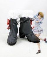 Love Live!ラブライブ! 小泉花陽風 Snow halation コスプレ靴 ブーツ