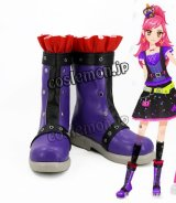 アイカツ! 音城セイラ風 さそり座ドレス コスプレ靴 ブーツ