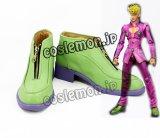 ジョジョの奇妙な冒険 Parte5 黄金の風 ジョルノ・ジョバァーナ風 コスプレ靴 ブーツ