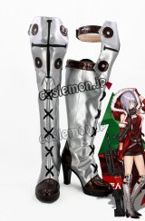 少女前線 Girls Frontline MG5風 クリスマス コスプレ靴 ブーツ