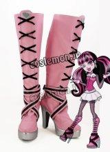 モンスター・ハイ Monster High ドラキュローラ風 Draculaura コスプレ靴 ブーツ
