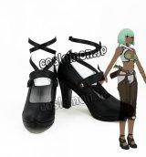 RWBY ルビー エメラルド・サストライ風 Emerald Sustrai コスプレ靴 ブーツ