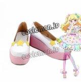 アイドルタイムプリパラ 夢川ゆい風 02 コスプレ靴 ブーツ