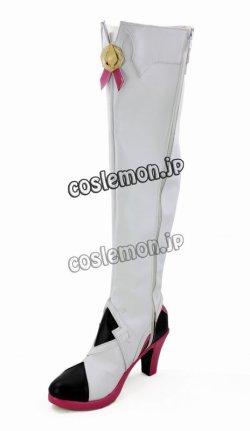 画像4: エルソード ELSWORD アイシャ風 Aisha 四次職 AETHER SAGE エーテルセージ コスプレ靴 ブーツ