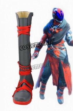 画像1: Destiny デスティニー ウォーロック風 Warlock コスプレ靴 ブーツ