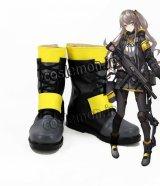 少女前線 Girls Frontline UMP45風 コスプレ靴 ブーツ