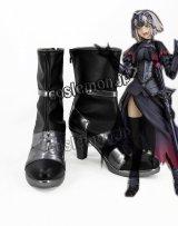 Fate/Grand Order フェイト・グランドオーダー ジャンヌ・ダルク オルタ風 コスプレ靴 ブーツ