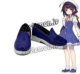 りゅうおうのおしごと! 雛鶴あい風 制服 コスプレ靴 ブーツ