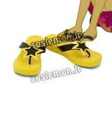 マイリトルポニー: エクエストリア・ガールズ 虹の冒険 Sunset Shimmer サンセットシマー風 コスプレ靴 ブーツ