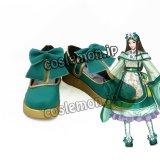 真・三國無双8 夏侯姫風 コスプレ靴 ブーツ