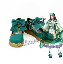 画像1: 真・三國無双8 夏侯姫風 コスプレ靴 ブーツ