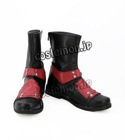 画像1: デッドプール Deadpool Marvel ウェイド・ウィルソン デッドプール風 04 コスプレ靴 ブーツ