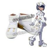 エーテル財団職員風 女 コスプレ靴 ブーツ