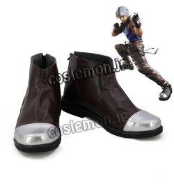 画像1: 鉄拳5 李超狼 リー・チャオラン風 コスプレ靴 ブーツ