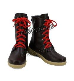 画像2: 東方Project 八雲紫風 コスプレ靴 ブーツ