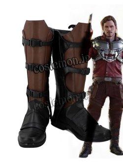 画像1: ガーディアンズ・オブ・ギャラクシー Guardians of the Galaxy ピーター・クイル スター・ロード風 03 コスプレ靴 ブーツ