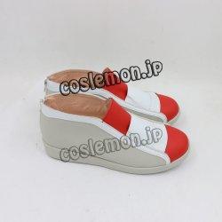 画像4: ハートゴールド ちびき風 コスプレ靴 ブーツ